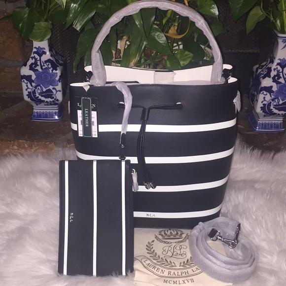 Lauren Ralph Lauren Bags   Ralph Lauren Leather Debby Drawstring Bag ... bd63015618